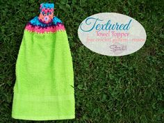 Textured Towel Toppe