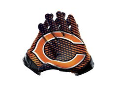Nike Vapor Jet 2.0 (NFL Bears) Men's Football Gloves - $100.00