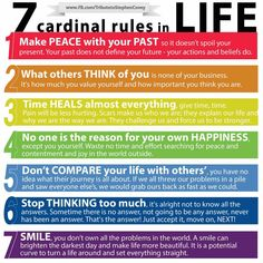 Truly words to live by! I like #5 the best I think.
