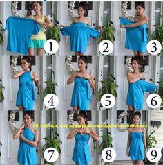 ¿Cómo hacer un vestido con una camiseta ancha?