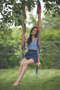 COLOURFUL SWING tree swings