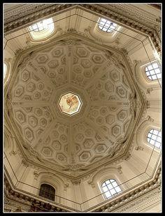 Santa Maria Della Pace ceiling, Rome.