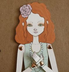 Articulated or jointed paper toys