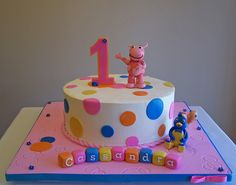 Backyardigans cake by cakespace - Beth (Chantilly Cake Designs), via Flickr