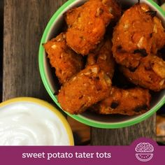 Ripped Recipes - Sweet Potato Tater Tots - If you LOVE sweet potatoes or tater tots, you have GOT to give these a whirl! Perfect with ANY meal of the day, or as a nutritious snack!