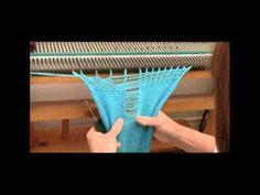 ▶ U.S.M. Mitten to Machine Knit Part 1 of 2 by Diana Sullivan - YouTube