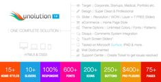 UNOLUTION One Complete Solution - Responsive HTML5