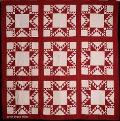 http://quilts-vintageandantique.blogspot.com/2014/07/red-and-white-quilts-again.html