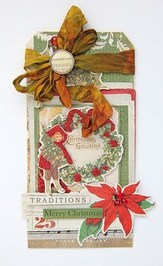 Tina Walker for MME #tags #christmas #scrapbooking