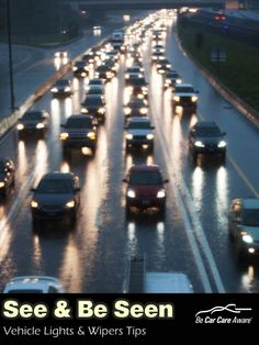 Stay safe on the Road as the days get shorter: Lights and Wipers Safety Tips #CarCare