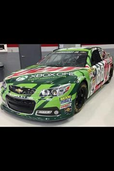 Dale Jr ran this paint scheme at Talladega in October 2013