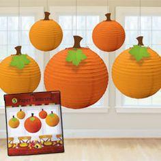 Fall Pumpkin Lanterns from Windy City Novelties