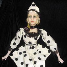 French-Pierrette-Boudoir-Bed-doll-