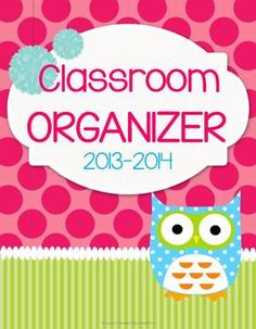 Teacher's Classroom Organizer {Who Has It Together?}, $