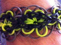 Rainbow Blooms Bracelet made by Brenden.
