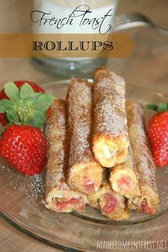cook, brunch spread, favorit, breakfast, toast rollup, french toast, eat, bread rollups, dessert