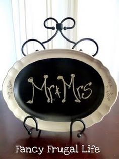 making these chalkboards for my wedding! DIY! (way cheaper than buying actual chalk boards!)