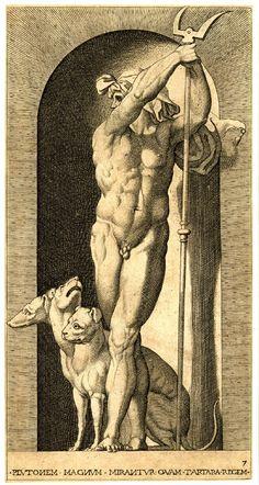 Impresión por Jacopo Caraglio, 1526, Museo Británico.    Jorge García Jurado