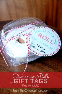 Cinnamon Roll Gift Tags {Free Printable}   The Creative Mom