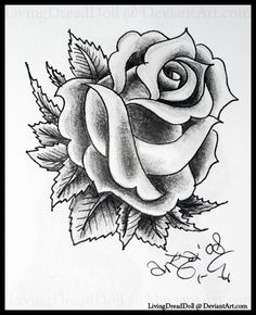 Heart With Roses Tattoo Black Rose Tattoo Design Tattooing Lettering