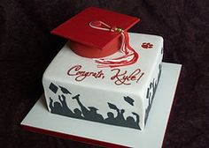 Fort Scott High School graduation cake por RebeccaSutterby