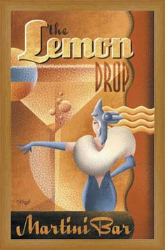 Lemon Drop Martini Bar