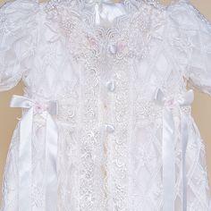 Charlotte Christening Gown (Girl) | Heirloom Baptism Clothes & Dresses