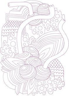 COLORTWIST -- Purple Coloring Book