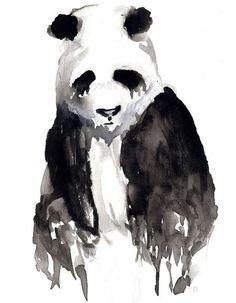 Depressed Panda by ~kegofham