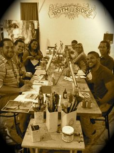 3 Hour BYOB Painting Class Thursdays 6:30-9:30pm Sundays Noon-3pm www.bothsidesart.com