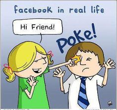 poke your friends everyday!