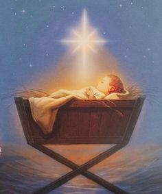 For unto us a child is born, unto us a Son is given. Isaiah 9:6