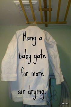 baby gates, organizing tips, closet organization, laundry rooms, laundry room organization