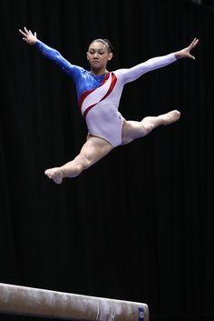 beams, kyla ross, gymnast