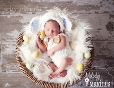 Melody's Makings: Little Lamb Overalls and Hat Set Crochet Pattern - 5 Sizes Included - PDF Sale. $4.25, via Etsy.