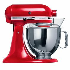 Red Kitchenaid Food Mixer | Best Food Mixers | Red Online