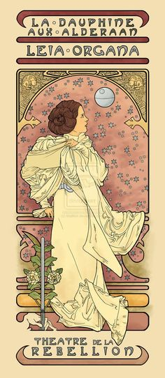 If Mucha saw Star Wars