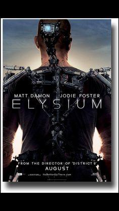 Elysium. Released on August 9, 2013