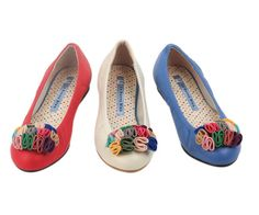 Colorful Ballet Flats.