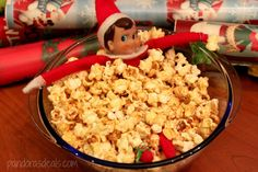 Elf on the Shelf.  Yummy or messy?!