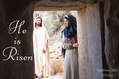 He is Risen | Easter idea for FHE  #easter #lds #comefollowme