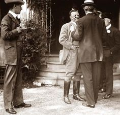 Theodore Roosevelt at home