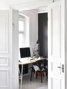 Stylish workspace