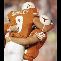 Jordan Shipley & Colt McCoy, Original Dream Team. HOOK'EM