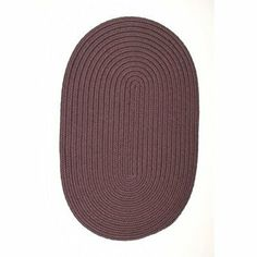 "Colonial Mills BR22 Boca Raton Eggplant Rug Rug Size: Oval Runner 2' x 9' by Colonial Mills. $103.00. BR22R024X109 Rug Size: Oval Runner 2' x 9' Features: -Technique: Braided.-Material: 100pct Polypropylene.-Origin: USA.-Reversible.-Stain resistant.-Fade resistant. Construction: -Construction: Hand guided. Dimensions: -Pile height: 0.5"".-Overall Dimensions: 34-168'' Height x 22-132'' Width. Collection: -Collection: Boca Raton."