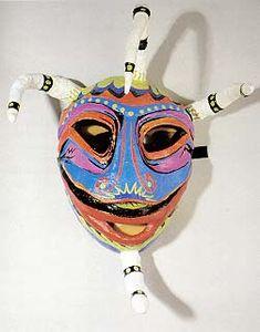 Vejigante mask