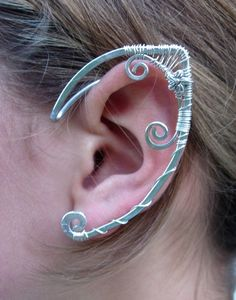 Wire Wrapped Fairy Ear Cuff