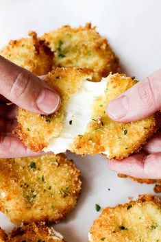 Amazing Fried Mozzar