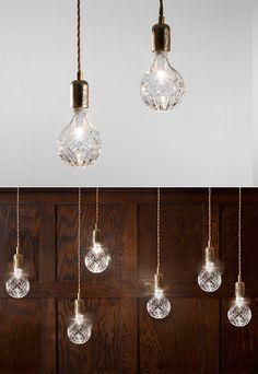 Crystal Bulb Pendant Lights
