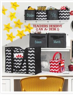 Organize your classroom in style! #ClippedOnIssuu from Thirty-One Catalog Fall 2014 mythirtyone.com/48772